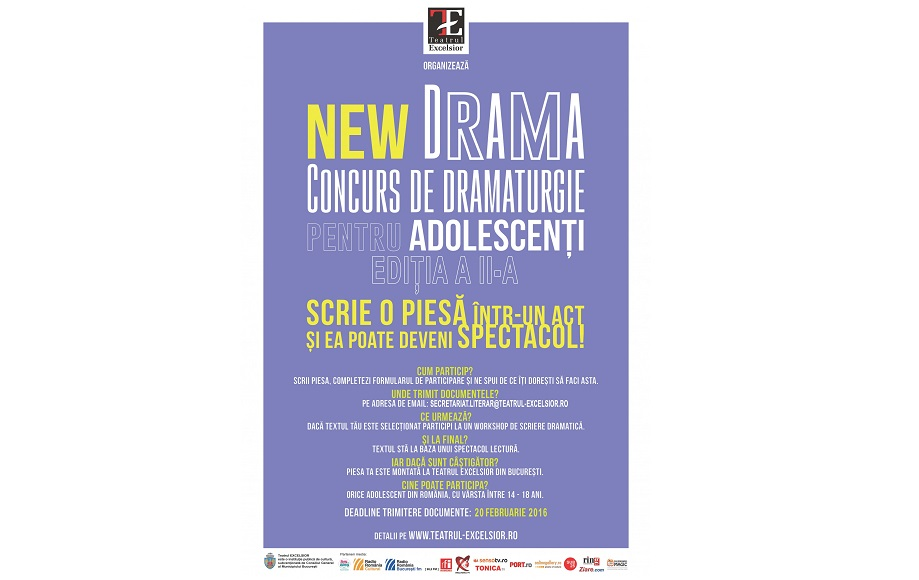 Concursul de Dramaturgie NEW DRAMA