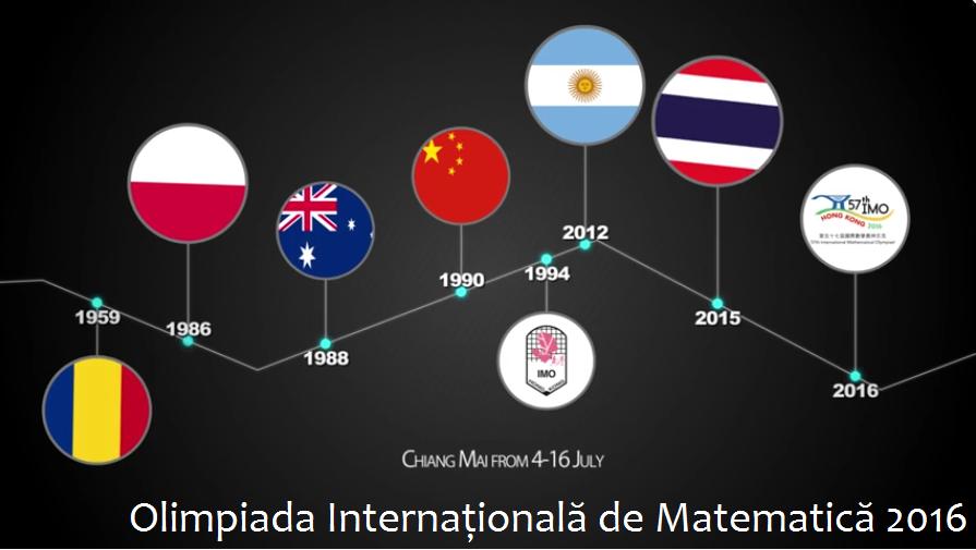 Olimpiada Internațională de Matematică 2016