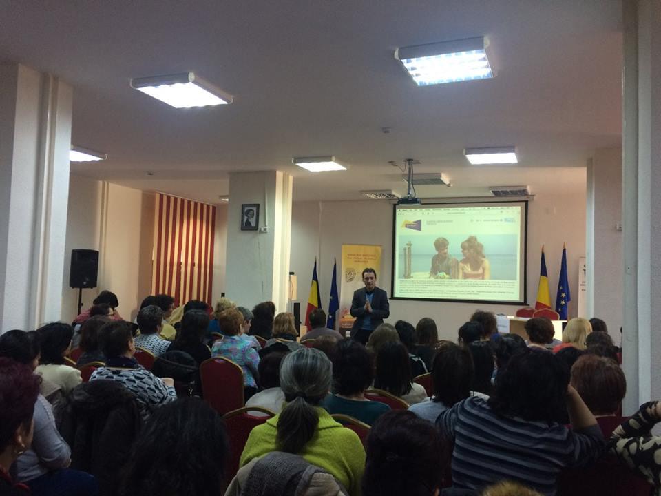 Aproape 300 de profesori și bibliotecari din țară au participat la sesiunile de formare CinEd. Încep proiecțiile.